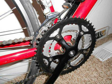 Womens Road bike 48cm RED - $250 (Hanford)