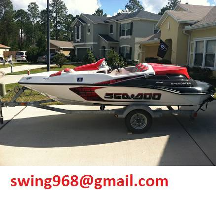 2006 Sea Doo Speedster 150 jet boat w trailer $2280