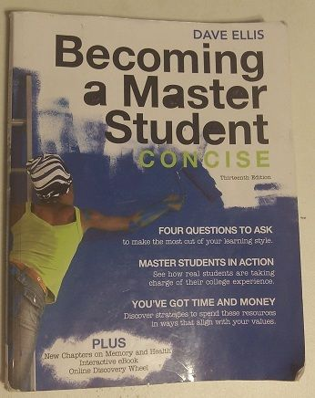 COS Becoming A Master Student Concise - $55 (Hanford)