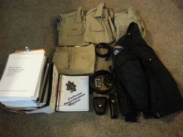 COS Police Academy Clothes and Equipment - $240 (Hanford)