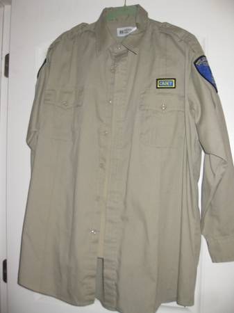 COS Police Academy Uniforms - $5 (Hanford, CA)