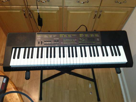 Very Lightly used Casio CTL-2080 FOR SALE - $110 (FresnoClovis)