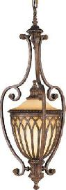 Murray Feiss Stirling Castle 1 Light Chandelier in British Bronze F192 -  200  hanford