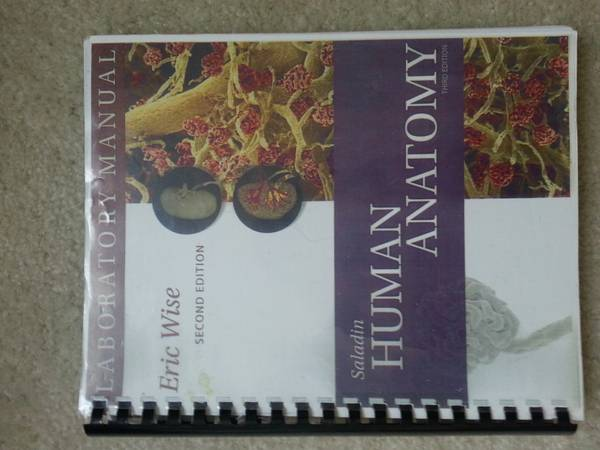 Human Anatomy LAB Manual Eric Wise 2nd Edition - $10 (Orange County)