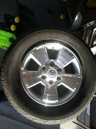 Stock Toyota Tires - $250 (Imperial Valley)