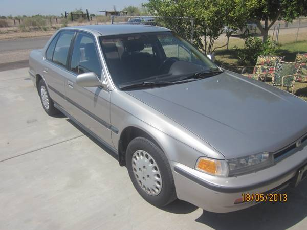 1993 Honda Accord - $2450 (IMPERIAL VALLEY)  - $2450 (IMPERIAL VALLEY)