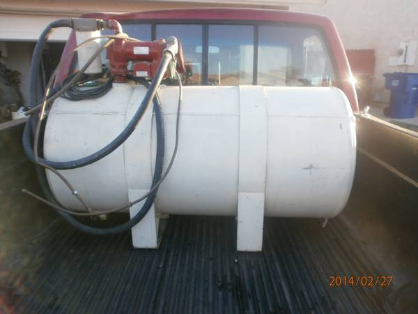100 Gallon Fuel Tank w12V Pump - $250 (Imperial)