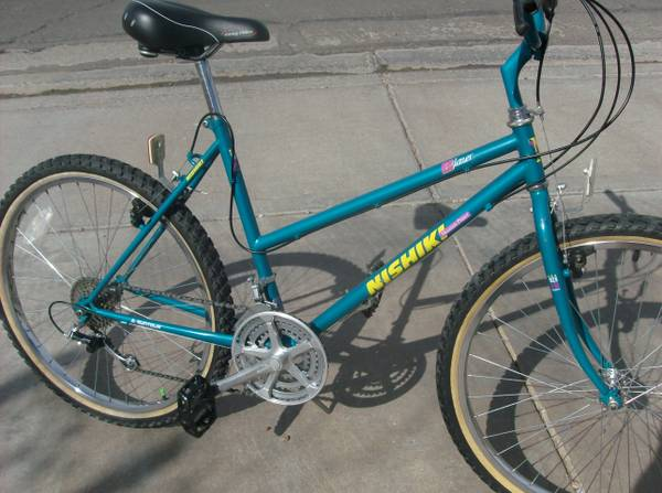 Vintage adult womans or girls Nishiki Blazer Mountaincomfort Bike - $110 (Henderson)