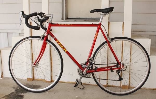 1996 TREK Fast Track 470 Road Bike 58cm - $150 (Decatur  Flamingo)