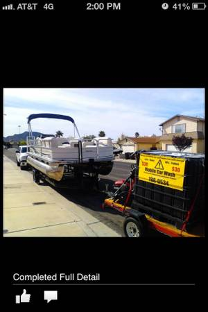 Car Wash Trailer Detailing Ready to go boats,Rvs  - $1500 (NW las vegas)