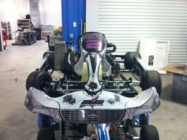 CRG KART KT-1 ROTAX with PASSPORT - EXCELLENT CONDITION - $4000 (Las Vegas, NV)