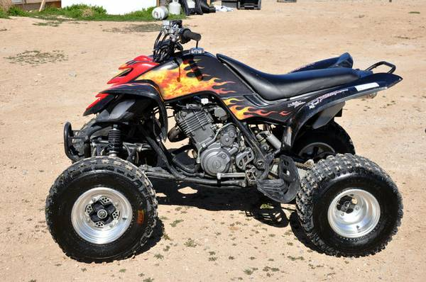 2003 Raptor 660 Limited Edition wreverse - $2300 (pahrump)