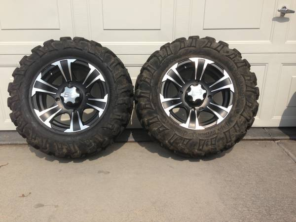 RZR 14 SS312 Wheels  26 Tires - $650 (Las Vegas)
