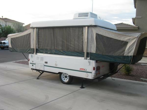 1999 Coleman Santa Fe Pop up Tent Trailer - $3500 (Mesquite NV)