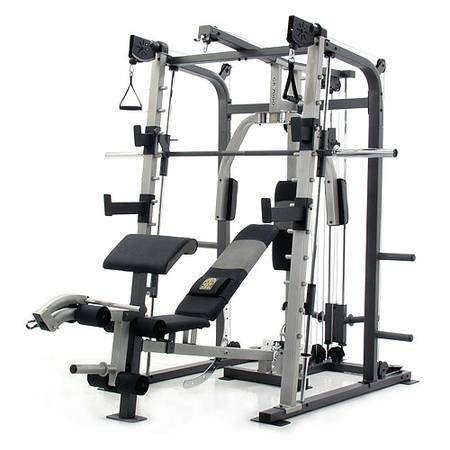 Golds Gym Gr7000 smith machine - $500 (Henderson)