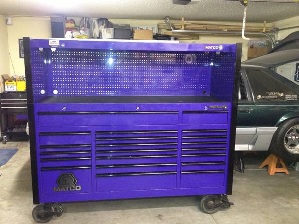 Matco tool box (Spring valley)