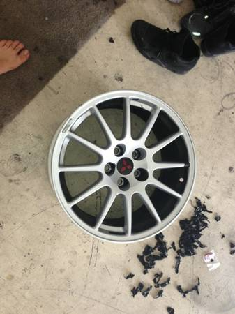 Evo x rims - $550 (SPRING VALLEY)