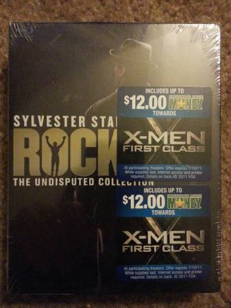 Rocky 6 disc Blu-ray set unopened $30 - $30