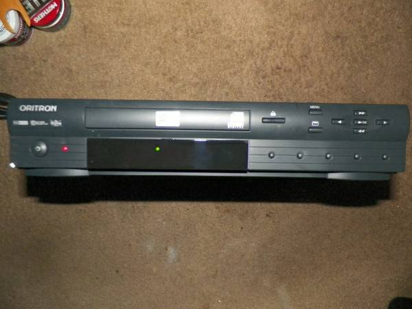 oritron dvd player cd player - $20 (nellisvegas valley)