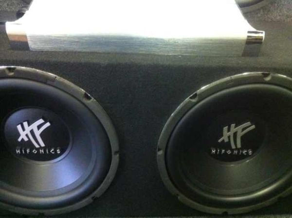 CAR AUDIO SPECIALS. HIFONICS 12 SUBS  AMP - $369 (TROPICANA  MOUNTAIN VISTA)