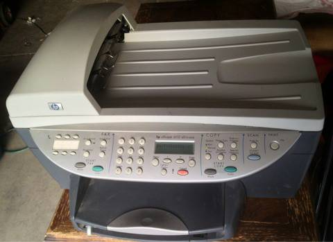HP OfficeJet 6110 ALL N ONE Printer Scanner Fax Copier w USB included - $60 (Silverado Ranch 89123)