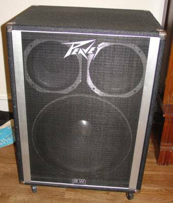 Peavey 18 black widow bass cabinet for sale