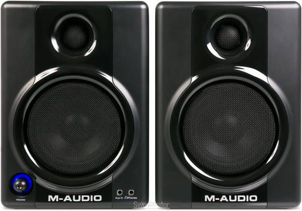 Powered 20W Reference MonitorsMultimedia Speakers with 4 Woofers  - $100 (Arville  Russell)