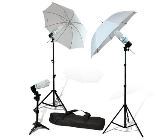 PROFESSIONAL PHOTO STUDIO 360w CONTINUOUS LIGHTING SYSTEM  CANVAS BAG - $125 (las vegas... (7O2 5l6 O944)