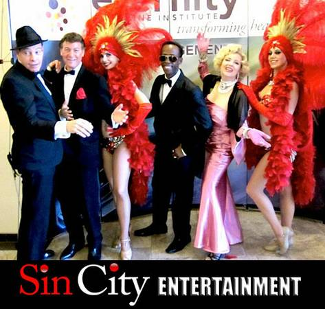 Tribute to Marilyn Monroe, Rat Pack, Michael Jackson, etc. (Las Vegas)