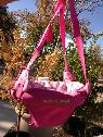 like new Pink  door  jumper  -  25