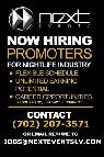 NEXT EVENTS PROMOTIONS TEAM  LAS VEGAS