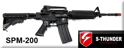 S-Thunder M-4 SPM-200 .43 Cal Paintball Marker - $300