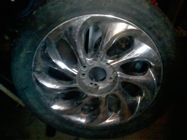 17 inch rims and tires 4 lug Universal - $175 (Merced)