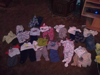 baby boy clothes 3-6 months  (merced )