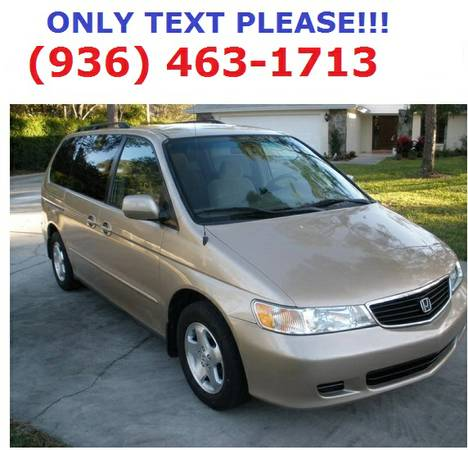 1999 Honda Odyssey EX  clean title one owner - $1750