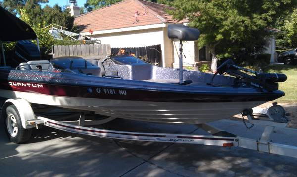 Bass Boat For Sale  Quantum Bass Boat For Sale