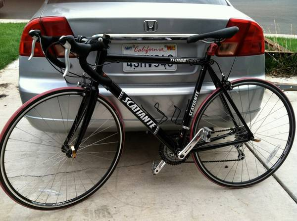 PRICED TO SELL 57cm SCATTANTE R330 ROAD BIKE bicycle roadbike - $350 (LOS BANOS)