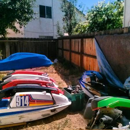 Stand up jet ski parts - $100 (Tracy)