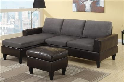 SECTIONAL WITH CHAISE, FREE OTTOMAN INCLUDED - $299 (MODESTO WAREHOUSE, DEALS R HERE)