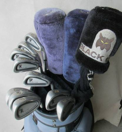 LYNX BLACK CAT Golfclubs - GREAT Set including Woods,Irons,Putter,Bag - $95 (Modesto)