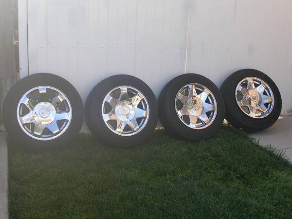 17 in. Cadillac Escalade Rims For Sale - $200 (Ceres)