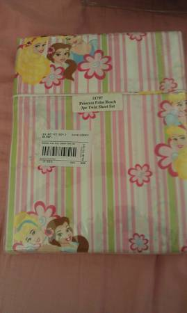 Disney Princess Twin Sheet Set - $20 (Modesto)