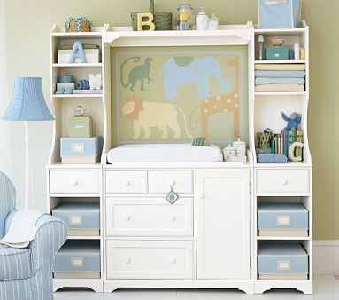 Pottery Barn Changing table  crib - $599 (Turlock )