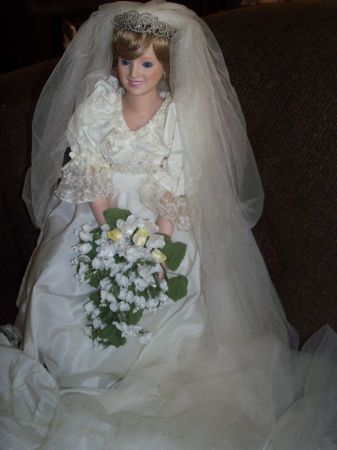 Princess Diana Wedding Doll by The Danbury Mint Co. - $125 (Delhi)