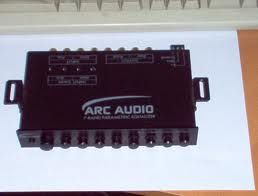 Arc audio 7 band eq - $120 (modesto)