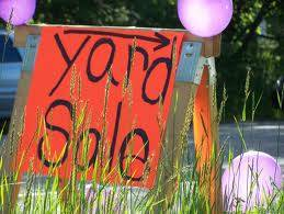 YES We are open No Rain, Yard Sale (5900 Tully Road)