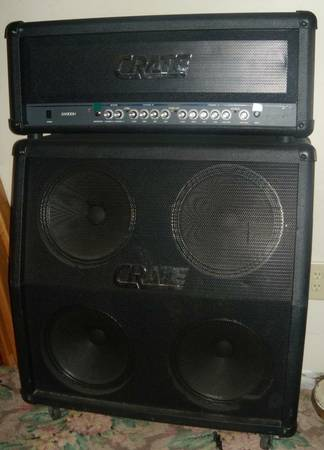 Crate GX900H Half Stack  - $250 (Escalon)