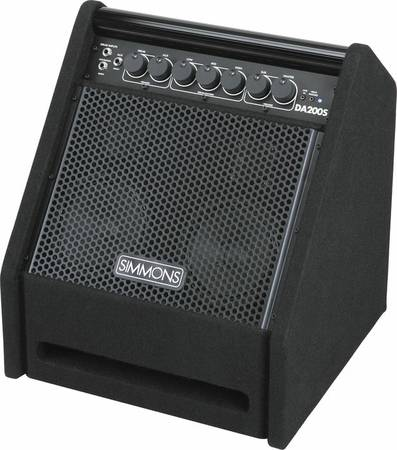 Simmons DA 200S Drum monitor Keyboard Bass Amp - $180 (Ceres)