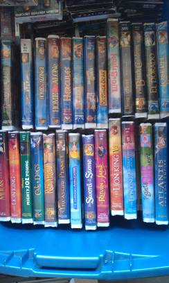 Disney movies and more - $3 (turlock)