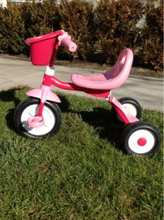 Radio Flyer Tricycle With Basket For Sale